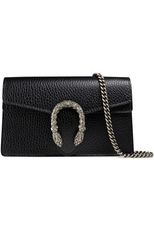 Gucci Damen Umhängetaschen - Dionysus leather super mini bag