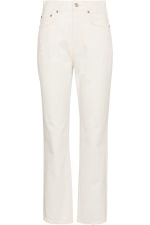 Acne Studios High-Rise Straight Jeans