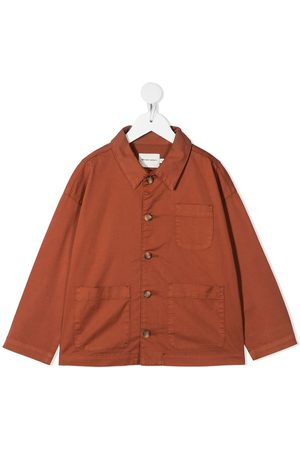 The New Society Patch pocket shirt jacket