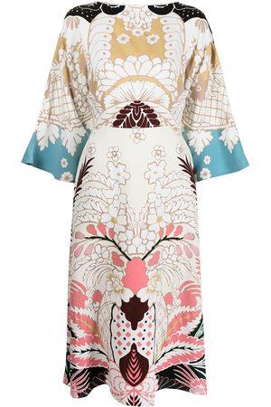 VALENTINO Cady printed dress