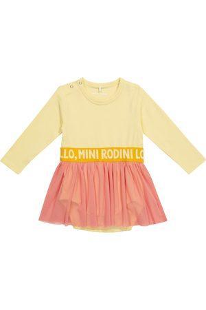 Mini Rodini Baby Kleid aus Baumwolle