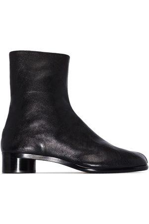 Maison Margiela Tabi toe leather ankle boots