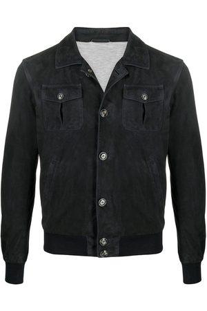 BARBA Herren Lederjacken - Leather shirt jacket