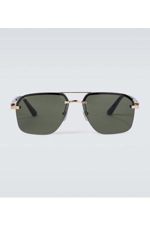 Cartier Eyewear Collection Herren Sonnenbrillen - Aviator-Sonnenbrille