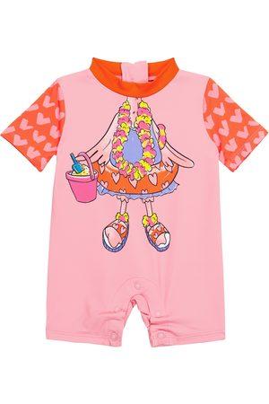 Stella McCartney Kids Baby Bedruckter Badeanzug
