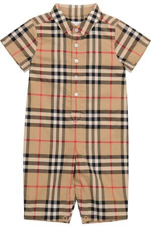 Burberry Kids Baby Spieler Vintage Check aus Baumwolle