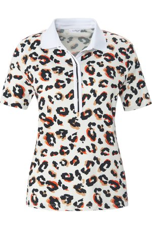 Looxent Damen Poloshirts - Polo-Shirt 1/2-Arm weiss