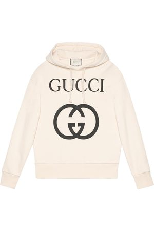Gucci Herren Sweatshirts - Hooded sweatshirt with Interlocking G