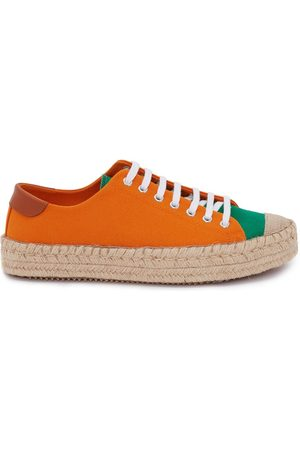 JW Anderson Panelled lace-up espadrilles