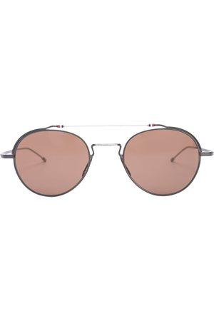 Thom Browne Eyewear TBS912 aviator-frame sunglasses