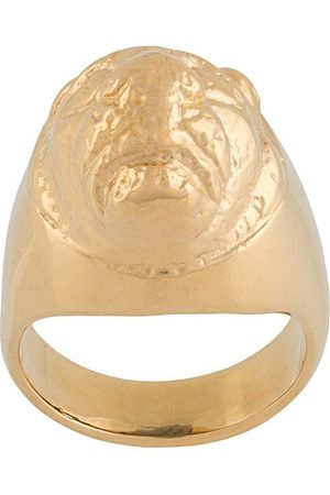 VICTORIA STRIGINI Lions Head signet ring