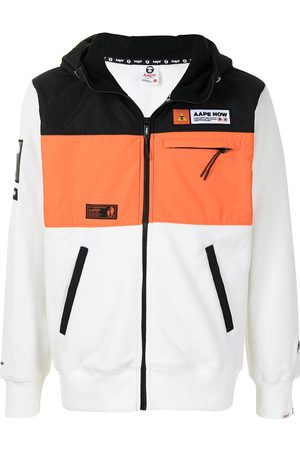 AAPE BY A BATHING APE Colour-block panel jacket