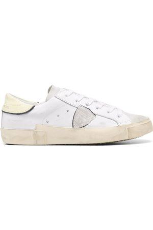 Philippe model Damen Schnürschuhe - Crackle low-top sneakers