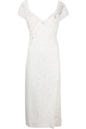 Jacquemus Broderie anglaise midi sundress