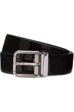 Dolce & Gabbana Herren Gürtel - High-shine finish buckle-fastening belt