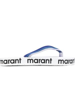 Isabel Marant Damen Flip Flops - Logo-printed flip-flops