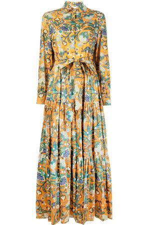 La DoubleJ Damen Freizeitkleider - Bellini Tree of Life print shirtdress