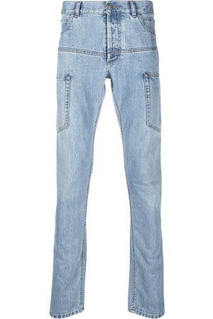 Balmain Multi-pocket skinny jeans