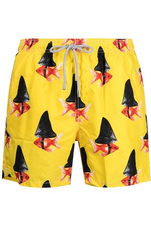 MC2 SAINT BARTH Herren Badehosen - Graphic-print swim shorts
