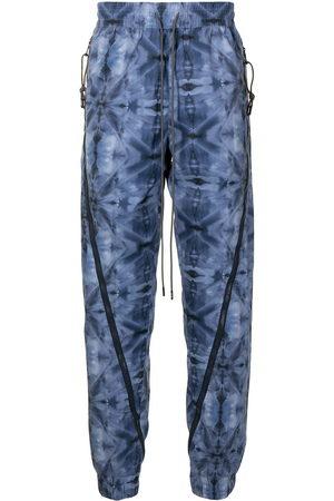 MOSTLY HEARD RARELY SEEN Herren Lange Hosen - Kaleidoscope zipped jogging trousers