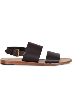 Dolce & Gabbana Double-strap leather sandals