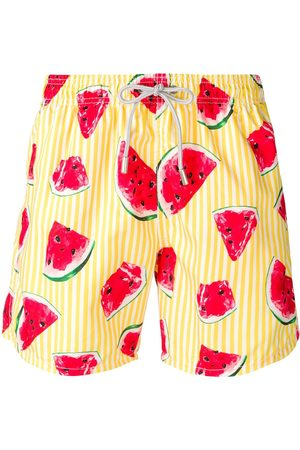 MC2 SAINT BARTH Watermelon print swimming shorts