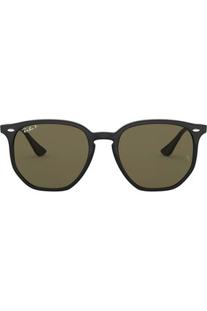 Ray-Ban Tinted geometric-frame sunglasses