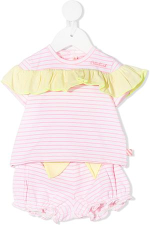 Billieblush Outfit Sets - Striped-print shorts set