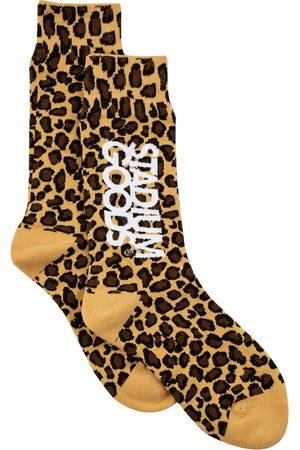 Stadium Goods Herren Socken & Strümpfe - Leopard-print socks
