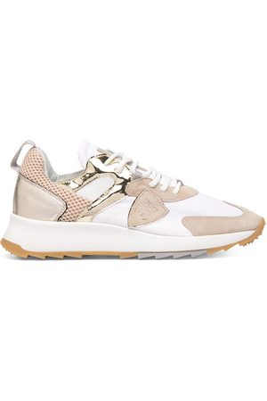 Philippe model Panelled low-top runner sneakers