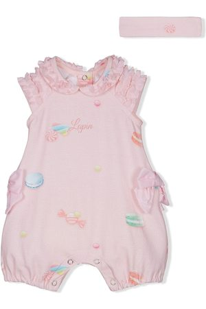 Lapin House Candy print two-piece set