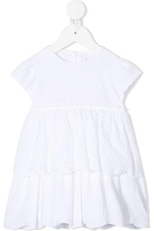 Il gufo Baby Caps - Tiered cap sleeve dress