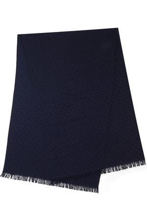 Prada Jacquard fringed scarf