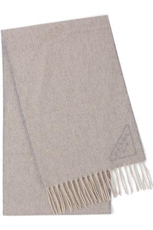 Prada Schals - Intarsia-logo scarf