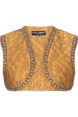 Dolce & Gabbana Weste aus Brokat