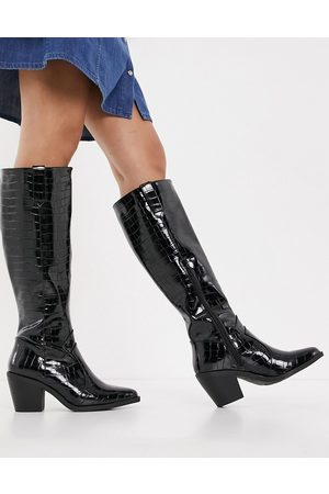 Glamorous Knee high western boots in