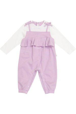 Il gufo Baby Strampler aus Baumwolle
