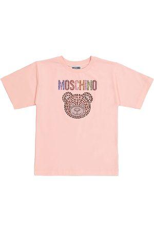 Moschino Verziertes T-Shirt