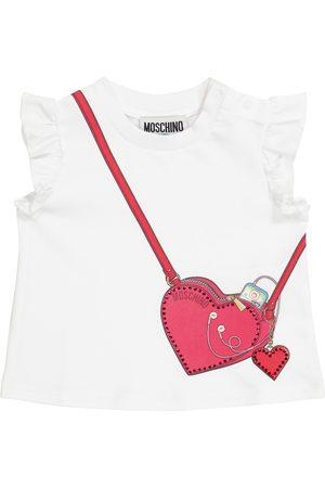 Moschino Baby T-Shirt aus Stretch-Baumwolle