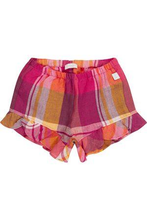 Il gufo Baby Shorts aus Leinen