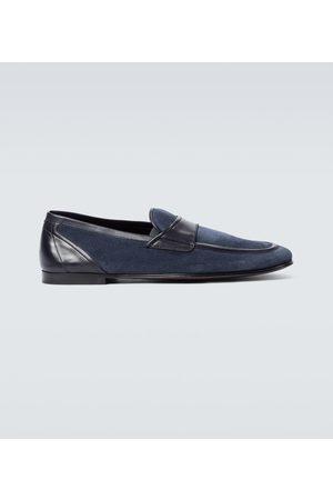Dolce & Gabbana Loafers aus Veloursleder