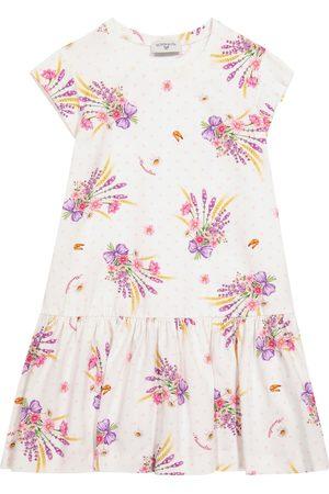 MONNALISA Exklusiv bei Mytheresa – Kleid aus Stretch-Baumwolle