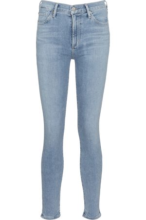 Citizens of Humanity Mid-Rise Skinny Jeans Rocket Ankle