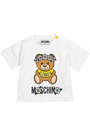 Moschino Baby Besticktes T-Shirt