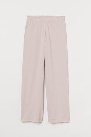 H&M Damen Jogginghosen - Gerade Jerseyhose