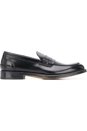 Dell'oglio Leather slip-on loafers