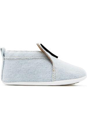 Giuseppe Zanotti Sneakers - Logo-appliqué denim shoes