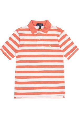 adidas Poloshirt aus Baumwoll-Piqué
