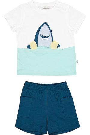 adidas Baby Set aus T-Shirt und Shorts