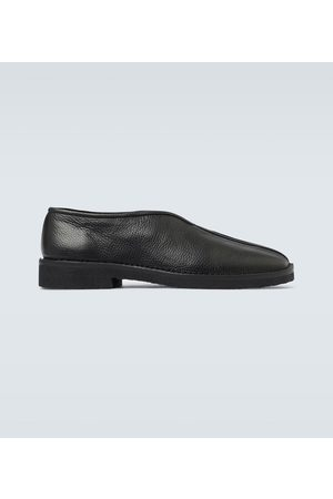 adidas Slippers aus Leder